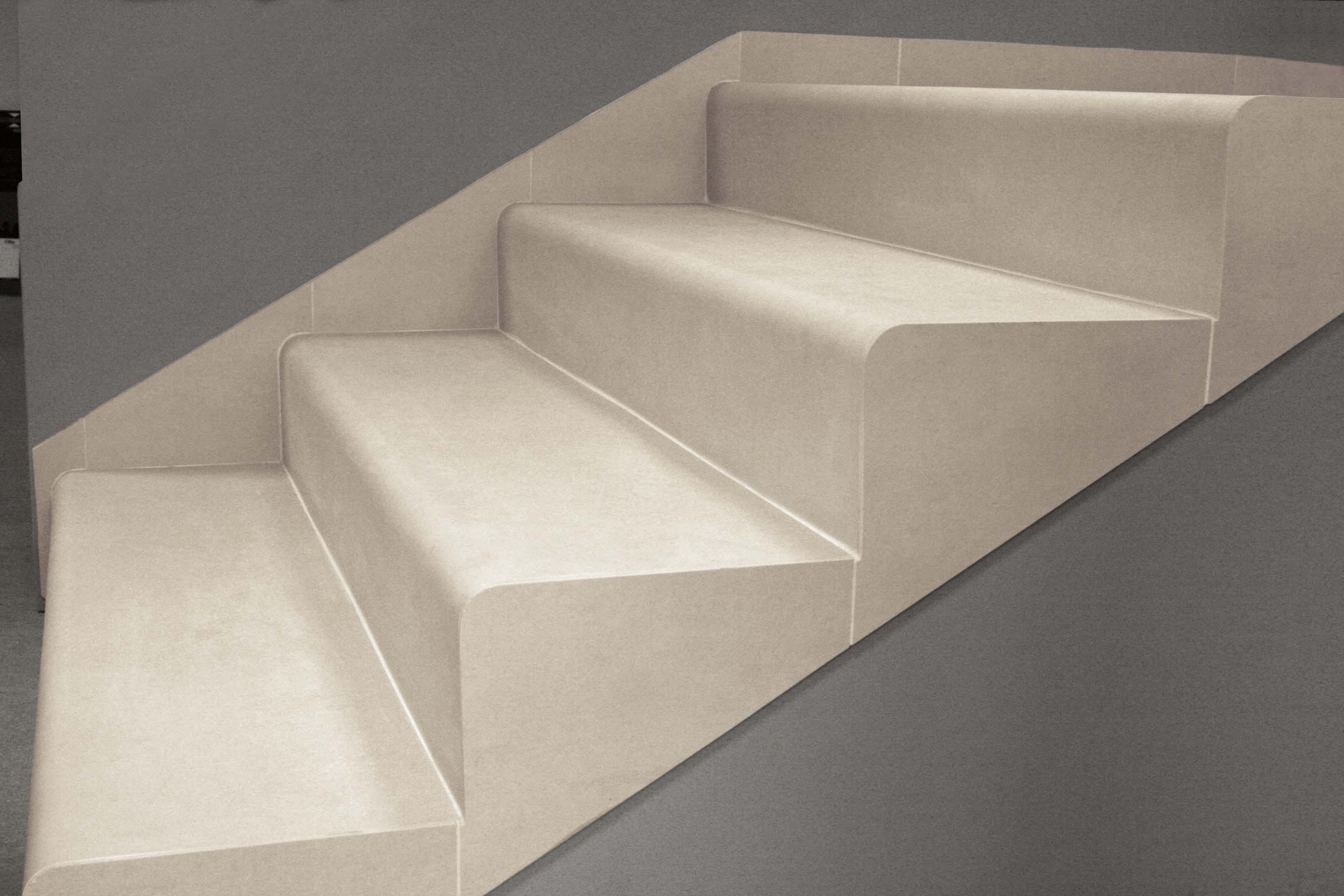 Decoratori bassanesi il piacere di vivere in un 39 opera d for Gres porcellanato per scale interne