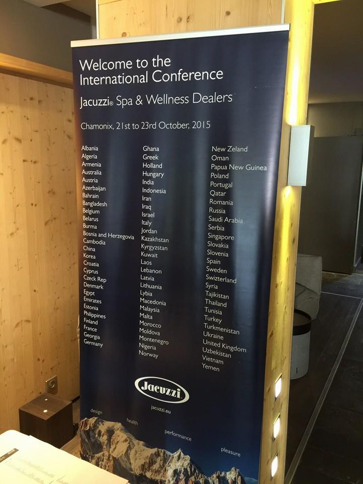 Arredosalaria alla Convention Mondiale dei Jacuzzi Wellness Specialist