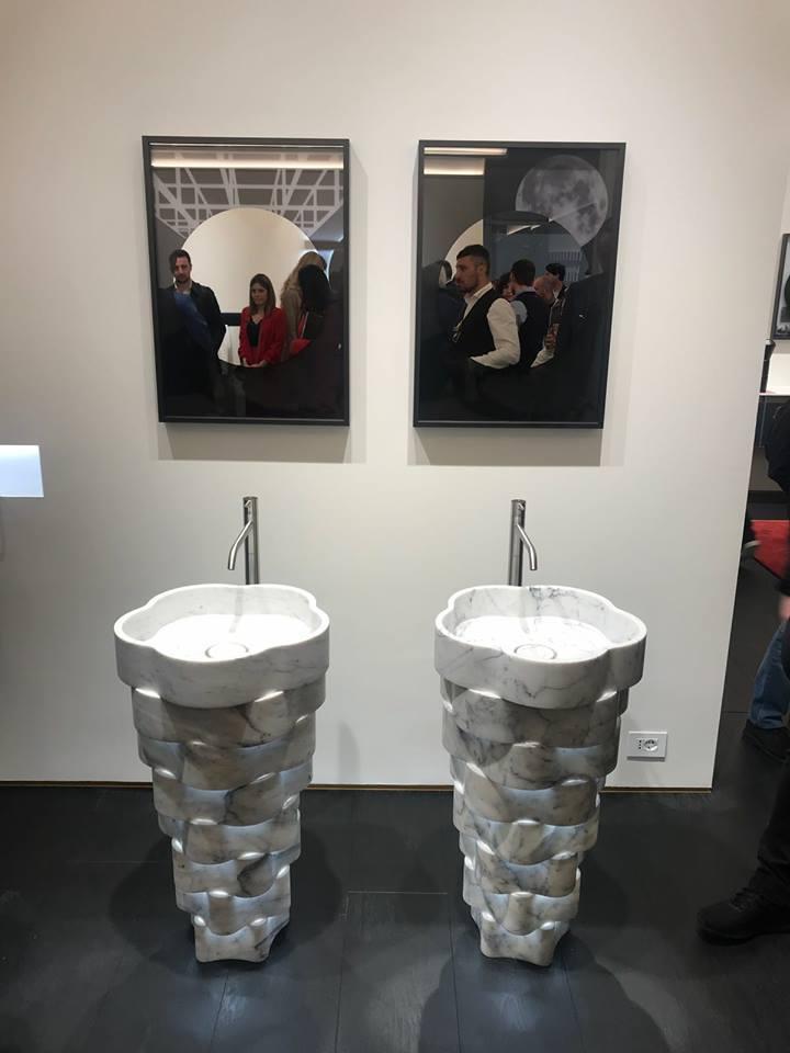 Salone del mobile milano 2018 - novità lavabo