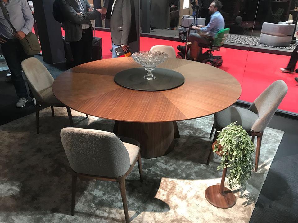 Salone del mobile milano 2018 - novità tavoli