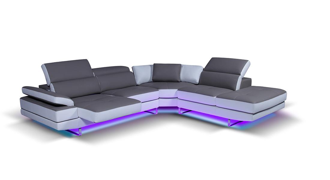 I dettagli che fanno la differenza. Un divano veramente luxury.