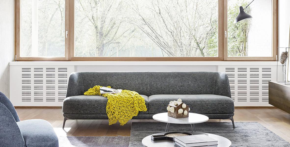 7 divani per 7 stili differenti guida alla scelta del for Divano minimal