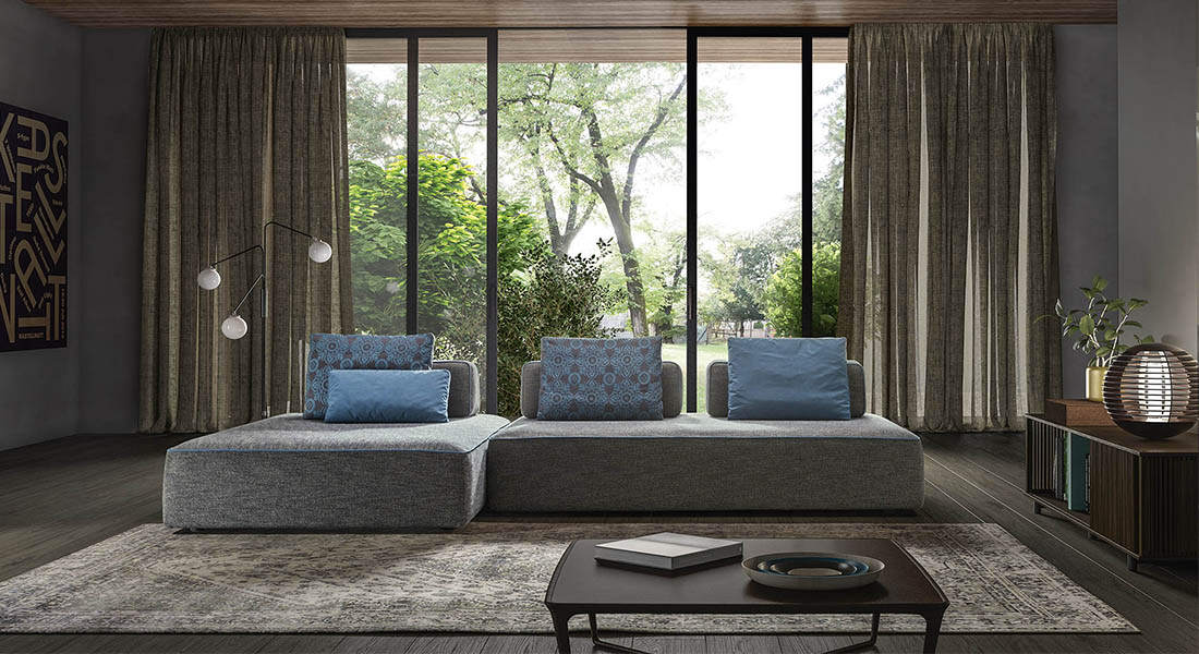Un divano dalla forte personalità