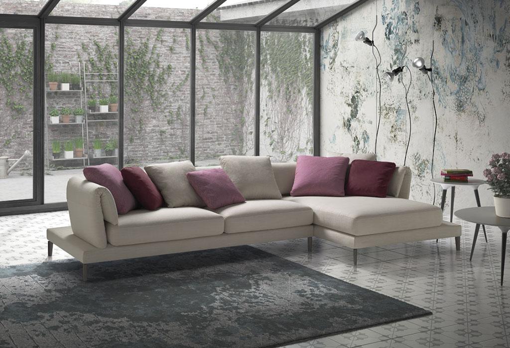 divano in tessuto arredosalaria