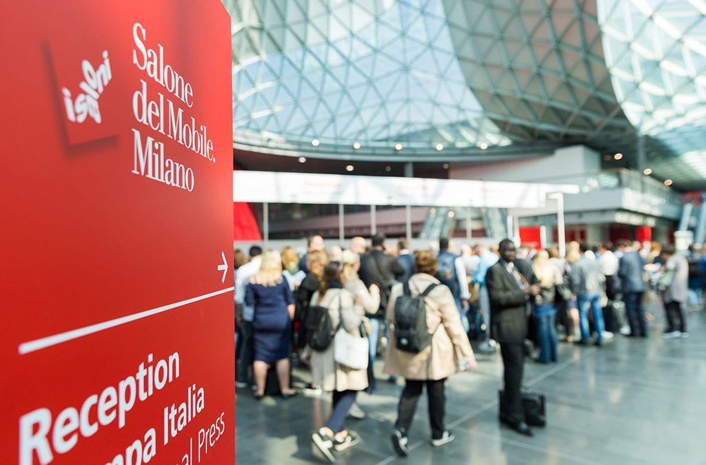 SALONE DEL MOBILE 2019 DI MILANO: AL VIA LA 58ESIMA EDIZIONE DELLA FIERA DEL DESIGN E DELL'INNOVAZIONE