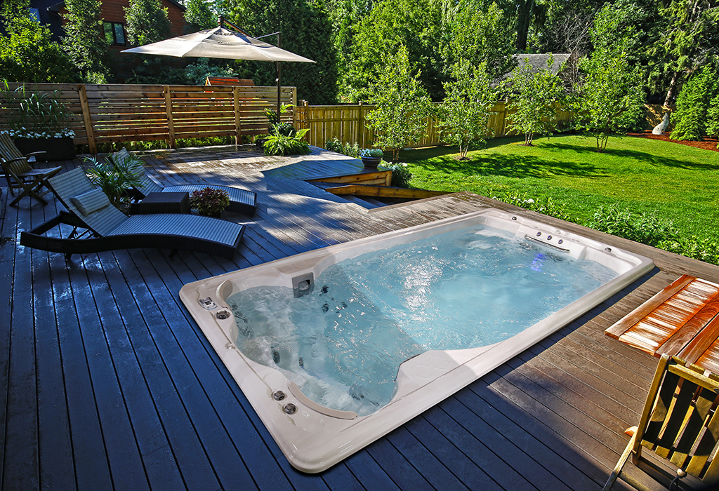 mini piscina jacuzzi
