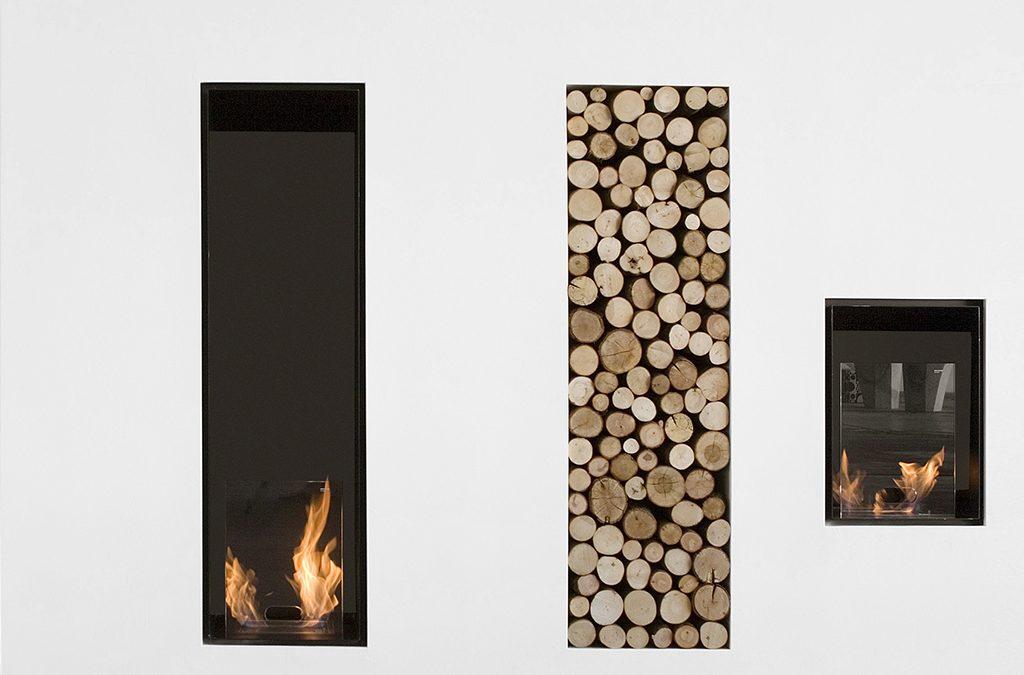 Il camino per arredare la casa d'inverno. Il calore del design.